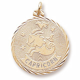 14K Gold Capricorn Constellation Charm by Rembrandt Charms