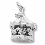 Sterling Silver Carousel Charm by Rembrandt Charms