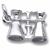 Sterling Silver Binoculars Charm by Rembrandt Charms