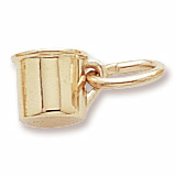 14k Gold Baby Cup Accent Charm by Rembrandt Charms