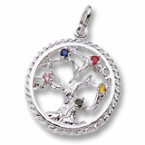 Sterling Silver Tree of Life Charm Select by Rembrandt Charms