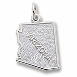 Sterling Silver Arizona Charm by Rembrandt Charms