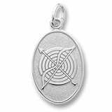 Sterling Silver Archery Charm by Rembrandt Charms