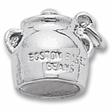 Sterling Silver Boston Baked Beans Charm by Rembrandt Charms