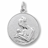 Sterling Silver Mother and Baby Charm by Rembrandt Charms