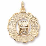 14K Gold Atlantic City Slots Charm by Rembrandt Charms