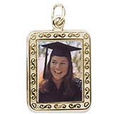 14K Gold Rembrandt Gold PhotoArt Charms