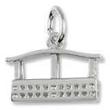 Sterling Silver Aero Car Gondola Charm by Rembrandt Charms