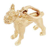 14K Gold Boston Terrier Charm by Rembrandt Charms