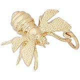 14k Gold Bee Charm by Rembrandt Charms