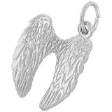 Sterling Silver Angel Wings Charm by Rembrandt Charms
