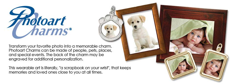 PhotoArt Charms from your Favorite Pictures
