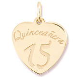 Quinceanera Charm