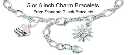 Girls Charm Bracelets Ages 3-21 years of age - Free Shipping 0a9cc2376bd8