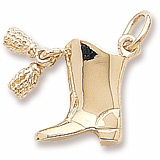 Drill Team Boot (tassels move)