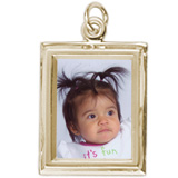Rectangle Baby Frame PhotoArt Charm