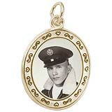Soldier PhotoArt Charm