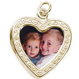Brothers in Heart PhotoArt Charm