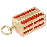Califorina Orange Crate Charm
